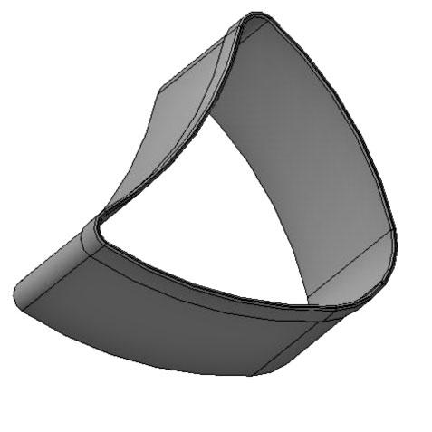 Форма кондитерская «Подкова» 50х55х60 мм